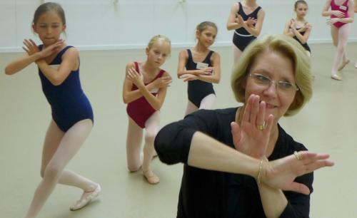 Paris Helen teaching